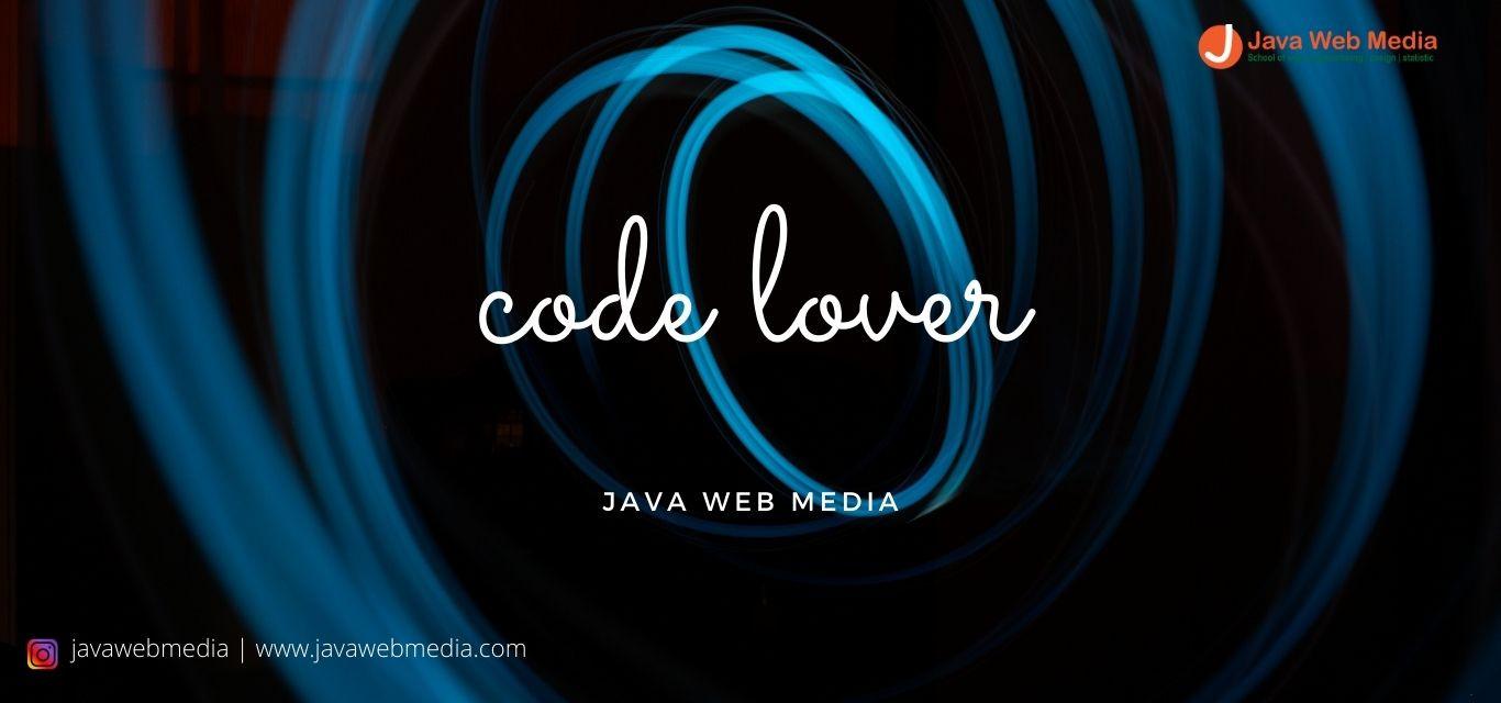 >Code Lover
